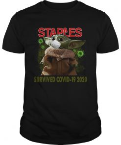 Baby Yoda Staples Survived Covid 19 2020  Unisex