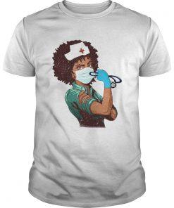 Black Nurse Strong Women  Unisex