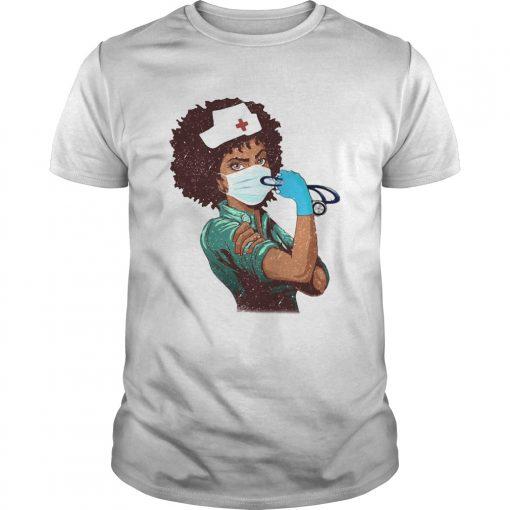 Black Nurse Strong Women  Unisex