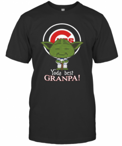 Chicago Cubs Yoda Best Grandpa T-Shirt Classic Men's T-shirt