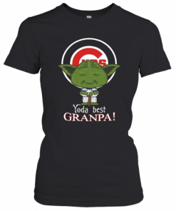Chicago Cubs Yoda Best Grandpa T-Shirt Classic Women's T-shirt