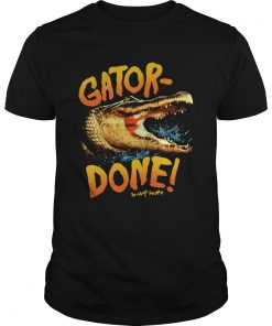 Crocodile Gator Done Swamp People  Unisex