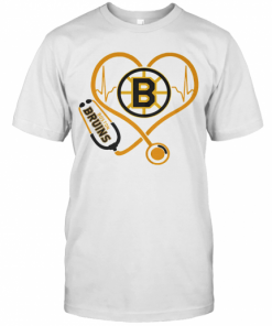 Heartbeat Nurse Love Boston Bruins T-Shirt Classic Men's T-shirt