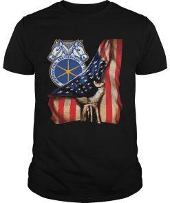International Brotherhood Of Teamsters America Flag  Unisex