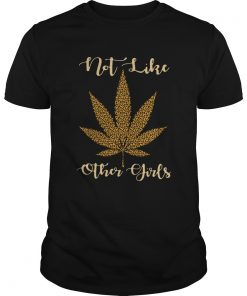 Leopard Cannabis Not Like Other Girls  Unisex
