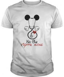 Mickey Nurse No One Fights Alone  Unisex