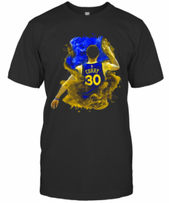 NBA Stephen Curry 30 Golden State Warriors T-Shirt Classic Men's T-shirt