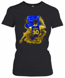 NBA Stephen Curry 30 Golden State Warriors T-Shirt Classic Women's T-shirt
