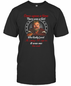 Once Upon A Time There Was A Girl Who Really Loves Kenny Rogers T-Shirt Classic Men's T-shirt
