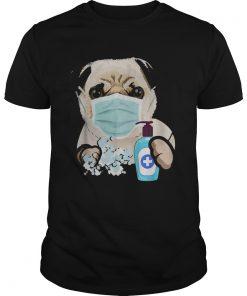 Pug Dog Lover Face Mask  Unisex