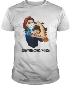 Strong Woman Tattoos Realtor Survived Covid19 2020  Unisex