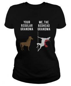 Your Regular Grandma Me The Redhead Grandma  Classic Ladies