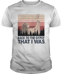 Back to the gypsy that I was vintage  Unisex
