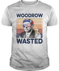 Beautiful American Flag Woodrow Wasted  Unisex