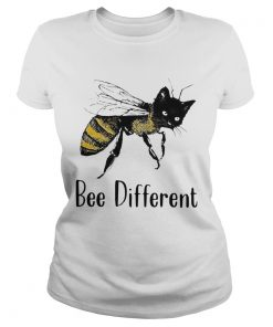 Cat Graphic Bee Diffirent  Classic Ladies