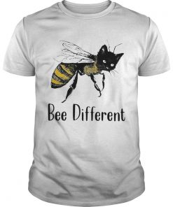 Cat Graphic Bee Diffirent  Unisex