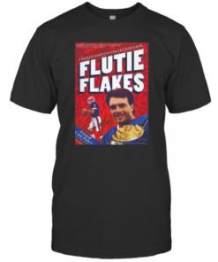 Doug Flutie NFL Quarterback Retro Flutie Flakes Cereal Box T-Shirt Classic Men's T-shirt
