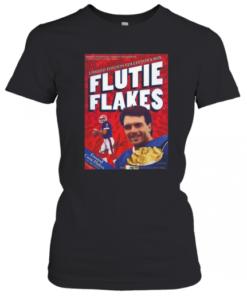 Doug Flutie NFL Quarterback Retro Flutie Flakes Cereal Box T-Shirt Classic Women's T-shirt