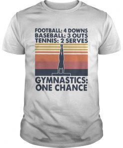 Football Baseball Tennis Gymnastics One Change Vintage  Unisex
