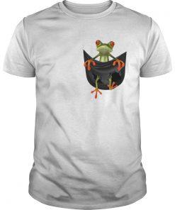Frog In Pocket  Unisex