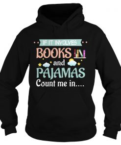 Hoodie MESS Books and Pajamas
