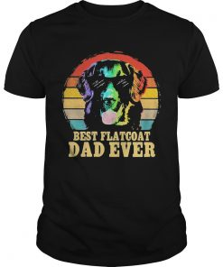 Labrador Retriever Best Flatcoat Dad Ever Vintage  Unisex