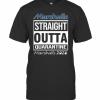Marshalls Straight Outta Quarantine Marshalls 2020 T-Shirt Classic Men's T-shirt