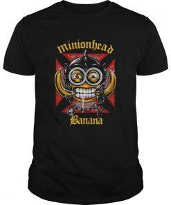 Minionhead Banana Mashup Motrhead  Unisex