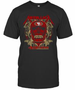 Skull Metallica San Francisco 49Ers T-Shirt Classic Men's T-shirt