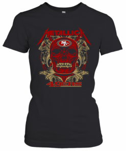 Skull Metallica San Francisco 49Ers T-Shirt Classic Women's T-shirt