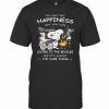 Snoopy You Can'T Buy Happiness But You Can Listen To The Beatles T-Shirt Classic Men's T-shirt