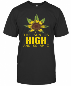 Sunflower The Sun Is High And So Am I T-Shirt Classic Men's T-shirt