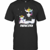 Unicorn Dadacorn Dad Father's Day T-Shirt Classic Men's T-shirt