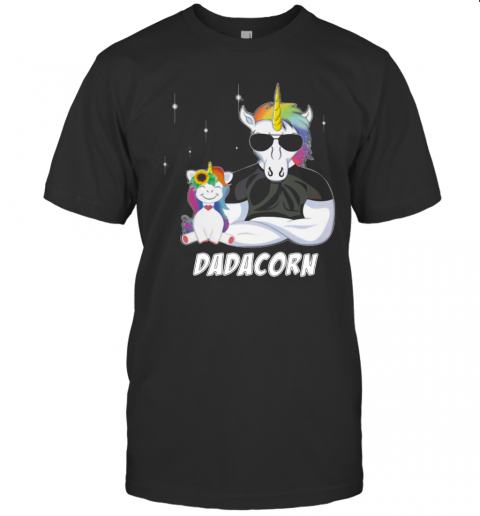 Unicorn Dadacorn Dad Father's Day T-Shirt Classic Men's T-shirt
