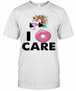 Unicorn Donut I Care T-Shirt Classic Men's T-shirt