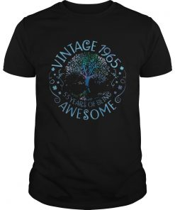 Vintage 1965 55 Years Of Being Awesome  Unisex