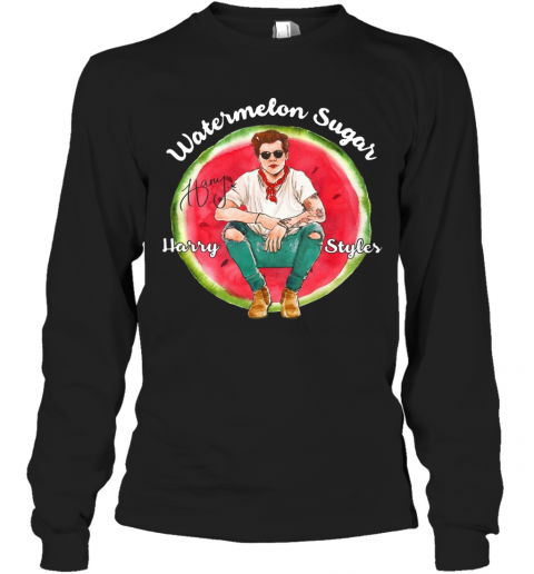 Watermelon Sugar Harry Styles T-Shirt Long Sleeved T-shirt