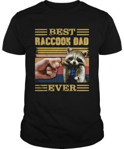 Best Raccoon Dad Ever Vintage  Unisex