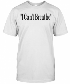Bridgett Floyd I Can'T Breathe T-Shirt Classic Men's T-shirt
