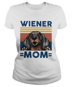 Dachshund Wiener Mom Vintage  Classic Ladies