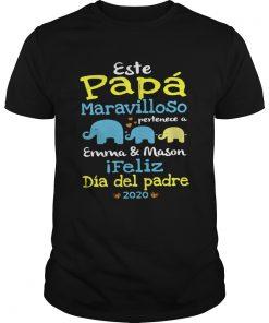 Este Papa Maraviloso Pertenece A Emma And Mason  Unisex