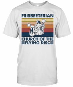 Frisbeeterian Church Of The Flying Disc Vintage T-Shirt Classic Men's T-shirt