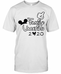 Mickey Mouse Ear Family Vacation 2020 T-Shirt Classic Men's T-shirt