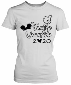 Mickey Mouse Ear Family Vacation 2020 T-Shirt Classic Women's T-shirt