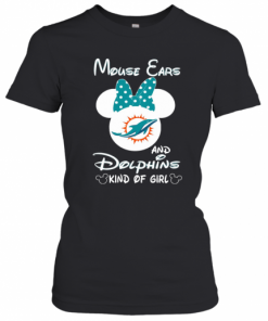 Minnie Mouse Cars And Dolphins Kind Of Girl T-Shirt Classic Women's T-shirt