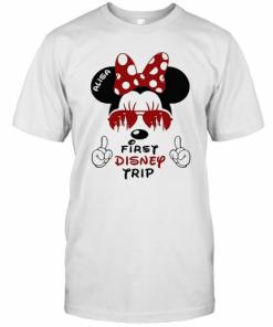 My First Disney Trip Minnie Mouse Avaitors T-Shirt Classic Men's T-shirt