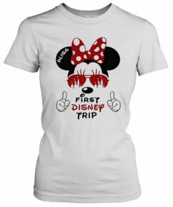 My First Disney Trip Minnie Mouse Avaitors T-Shirt Classic Women's T-shirt