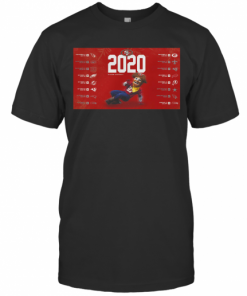 San Francisco 49Ers Football 2020 Season Schedule T-Shirt Classic Men's T-shirt