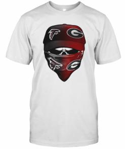Skull Mask Atlanta Falcons And Green Bay Packers T-Shirt Classic Men's T-shirt