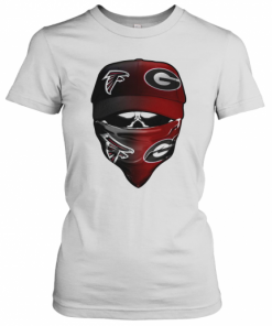 Skull Mask Atlanta Falcons And Green Bay Packers T-Shirt Classic Women's T-shirt
